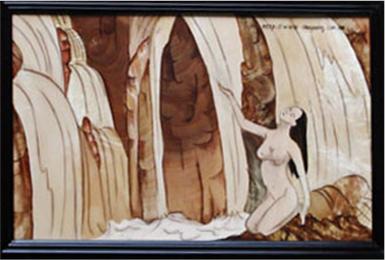 Trang trí nhà bằng tranh ghép gỗ