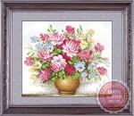 Tranh thêu chữ thập: Bình hoa YH202
