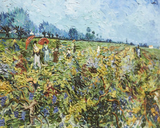 Bày tranh của danh họa Van Gogh tại Australia: Khách tham quan kỷ lục