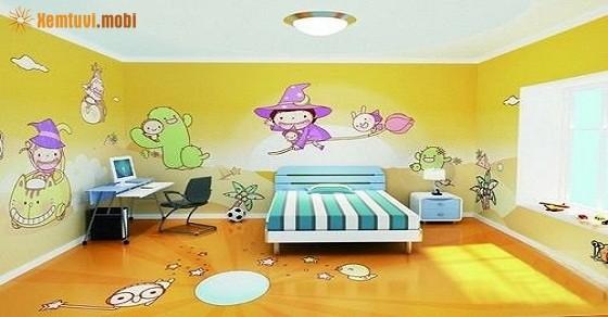 Chọn tranh phong thủy treo phòng ngủ theo tuổi thêm vượng khí .